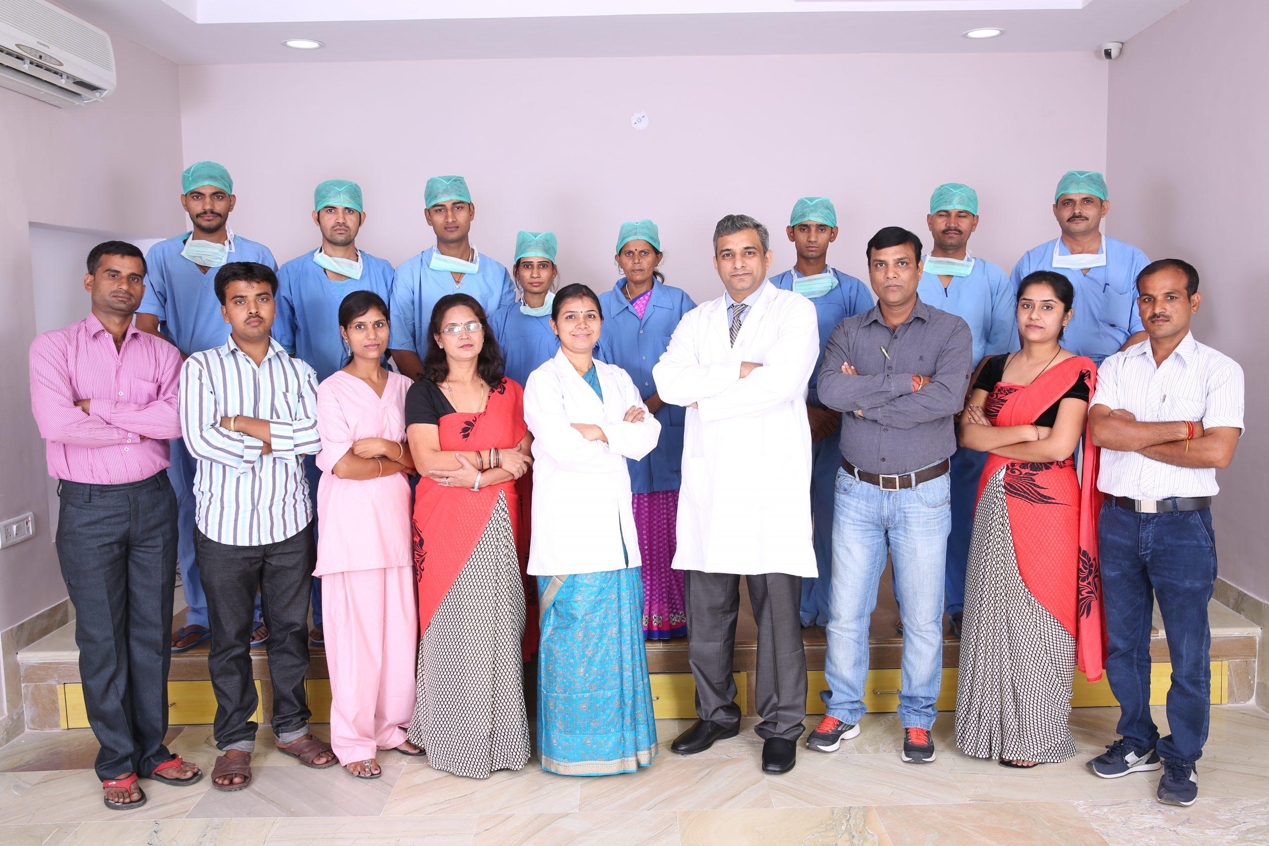 Saraswat Hospital Team Members