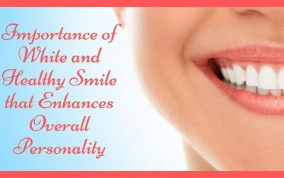Importance of white and healthy smile