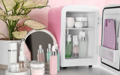 Skincare Storage Game with The Mini Fridges